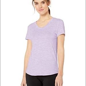 Danskin Lavender V Neck Top